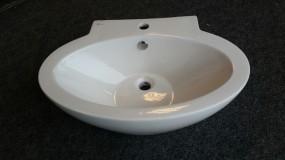 Waschtisch 65 x 46 cm Weiß glänzend - Sonderposten