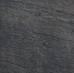 Keope Terrassenplatten K2 Percorsi Quartz Black 60x60x2 cm