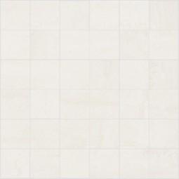 Mosaico Saime Kaleido Bianco Anpoliert Lappato