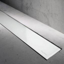 Abdeckset Modulo Basic Glas Weiß