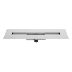 Duschrinne Rohbauset M-1 / Sperrwasserhöhe 50 mm