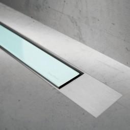 Abdeckset Modulo Design Z-2 Glas Grün / Edelstahl gebürstet